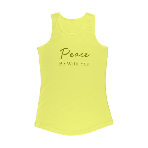 Peace Be With You Cheers Y'all Women's Performance Tank Top