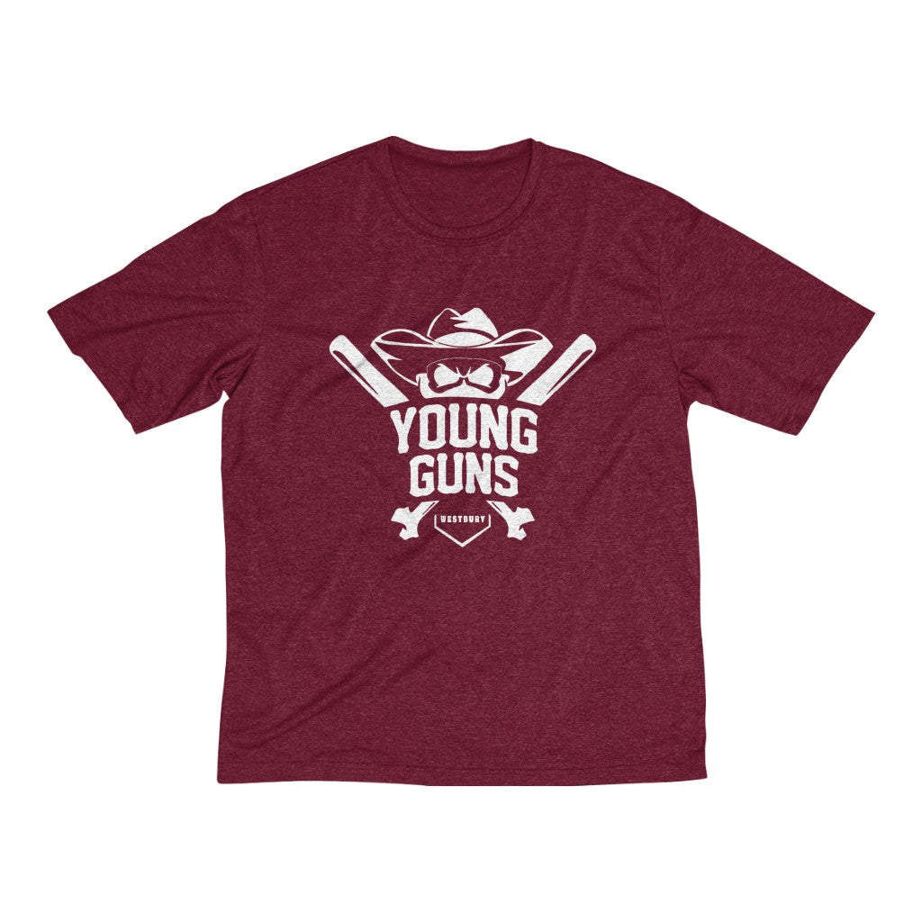 FRAWNER Family Custom Young Guns Heather Dri-Fit Tee