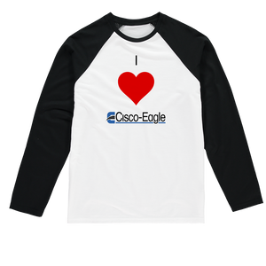 I heart Cisco-Eagle 1 CUSTOM got cisco-eagle Baseball Tee