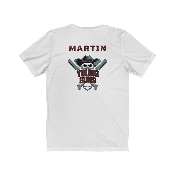 MARTIN Custom Young Guns Personalized Spirit Shirt