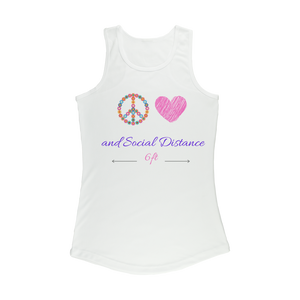 Color Peace Women Performance Tank Top