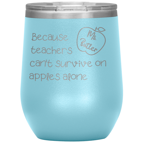CUSTOM - Mrs. Butlers Wine Tumbler