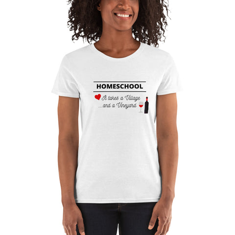 Homeschool Women's short sleeve t-shirt