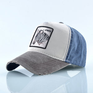 Zebra Vintage - WildLife Caps