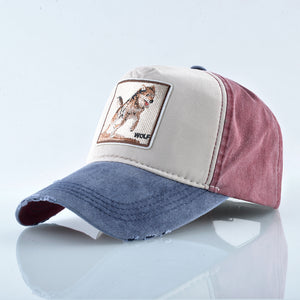 Lobo Salvaje Vintage - WildLife Caps