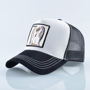 Pinguino Blanco-Negro - WildLife Caps