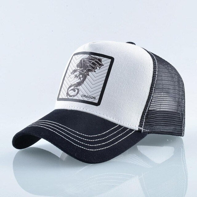 Dragón Blanco y Negro - WildLife Caps