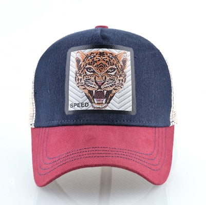 Jaguar Rojo-Azul - WildLife Caps