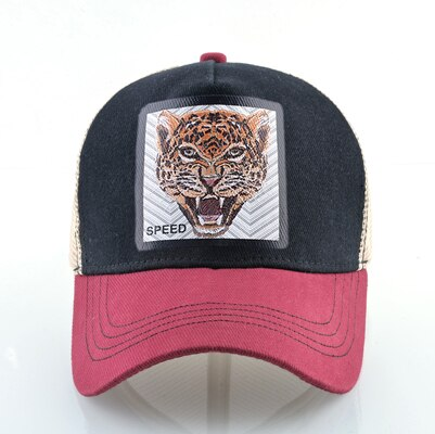 Jaguar Rojo-Negro - WildLife Caps