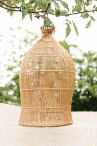 RATTAN LAMP SHADE SMALL