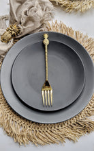 Load image into Gallery viewer, ISLAND GOLD BRASS PINEAPPLE FORK