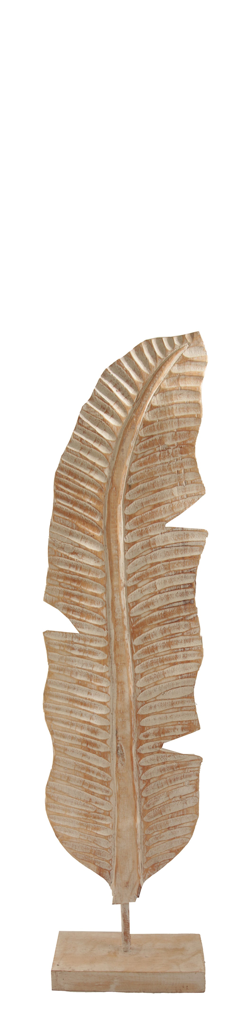 WOODEN WING DECOR CREAM SMALL