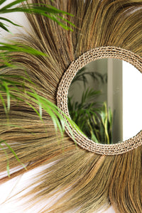NATURAL GRASS MIRROR