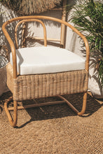 Load image into Gallery viewer, UBUD NATURAL RATTAN LOUNGE CHAIR