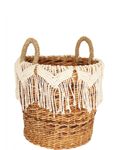 MACRAME BASKET SMALL