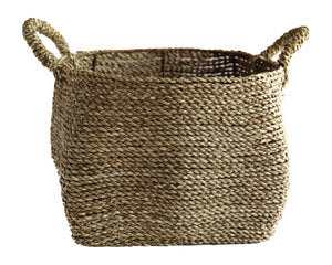 NATURAL STRAW GRASS  BASKET