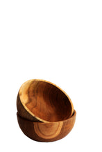 Load image into Gallery viewer, TEAK WOOD BOWL Medium