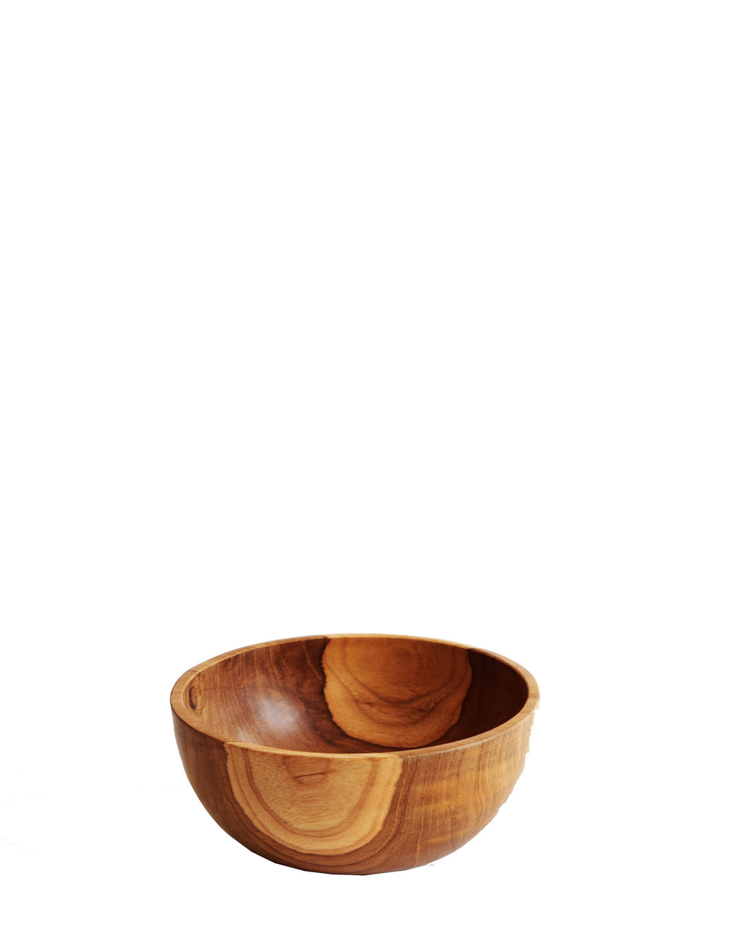 TEAK WOOD BOWL Medium