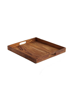 TEAK WOOD TRAY LARGE