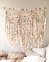 Load image into Gallery viewer, HANGING MACRAME WALL DECOR LARGE