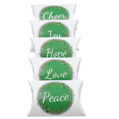 ON SALE! Holiday Pillow Packs - Dallas Caramel Company