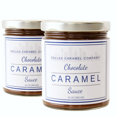 Chocolate Caramel Sauce - Dallas Caramel Company