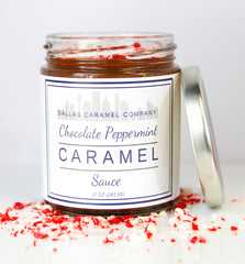 Chocolate Peppermint Sauce - Dallas Caramel Company