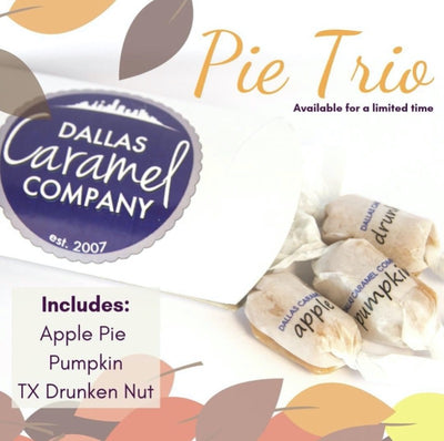 Pie Trio - Dallas Caramel Company