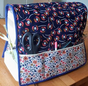 FREE Sewing machine dust cover pattern / tutorial
