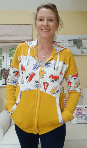 Review of the Carmen hoodie pattern by Simply Sewing