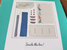 Load image into Gallery viewer, Boat Cushion Sewing Kit: Adults fabric DIY make your own cushion craft kit. By DoCrafts Simply Make