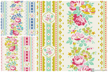 Load image into Gallery viewer, Tilda Apple Butter Billy Jo Yellow, Red, Blue by the Fat quarter. Cotton fabric