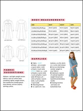Load image into Gallery viewer, Tilly and the Buttons Rosa top and shirt dress sewing pattern. Easy basic pattern.