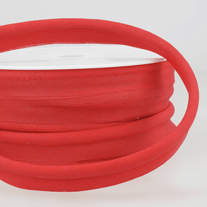 Flanged 18mm wide piping cord 5 mm 100% Cotton bias binding cut - Per Metre
