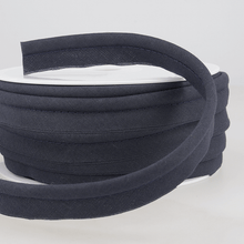 Load image into Gallery viewer, Flanged 18mm wide piping cord 5 mm 100% Cotton bias binding cut - Per Metre