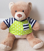 Load image into Gallery viewer, Teddy Bear Tee T-shirt/T-shirt dress clothes sewing pattern instant download PDF Instructions: for build a bear/15 inch bear