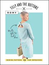 Load image into Gallery viewer, Tilly and the Buttons Romy Top and Dress sewing pattern. Easy to follow.