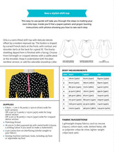 Load image into Gallery viewer, Tilly and the Buttons Orla Shift Top sewing pattern. Easy to follow.