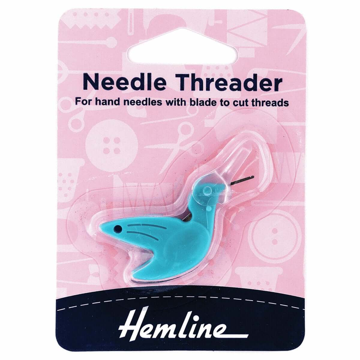 Easy Needle Threader: Hummingbird. Hemline. Sewing and crafts.