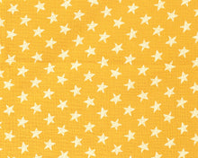 Load image into Gallery viewer, Soft Double Gauze MuslinStarCotton Fabric.  By the half metre. Sage green, mustard yellow, navy blue and dusky pink.