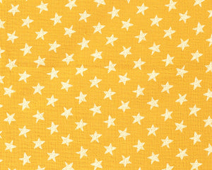 Soft Double Gauze MuslinStarCotton Fabric.  By the half metre. Sage green, mustard yellow, navy blue and dusky pink.