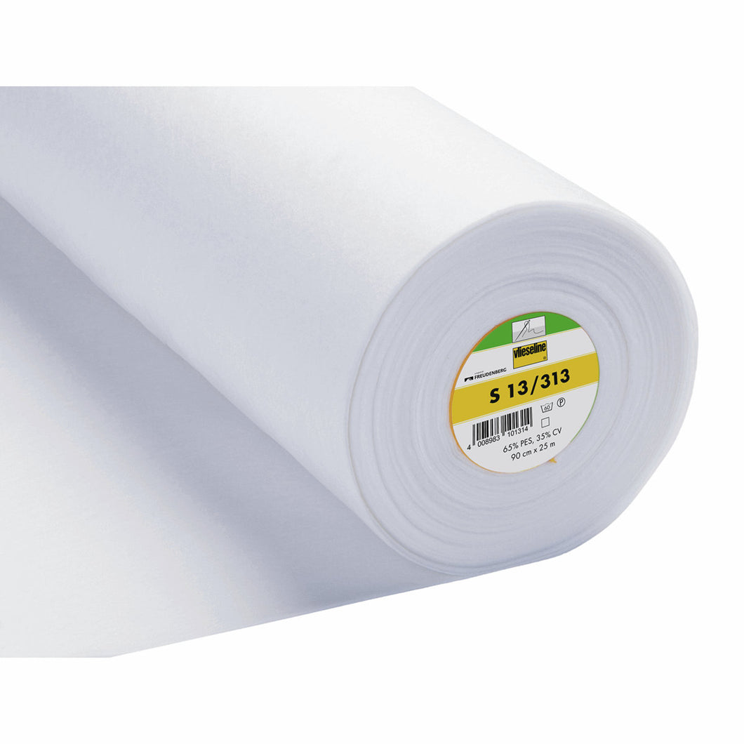 Heavy Sew In Interlining Interfacing: Vilene S13 2V313: 90cm wide. By the half metre.