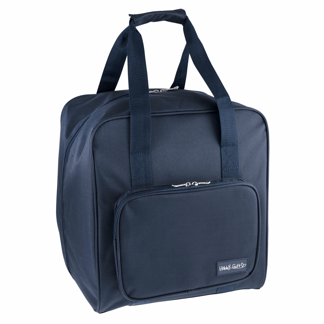 Overlocker bag Navy Sewing Machine Bag.