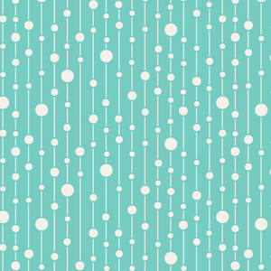 Tilda Apple Butter Pearls cotton fabric by the Fat quarter: yellow, green, teal, blue, pink.