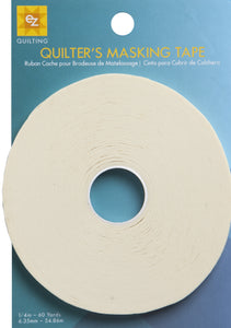 Simplicity EZ Quilting Quilters Masking Tape 1/4 in by 60 yards (54.9m)