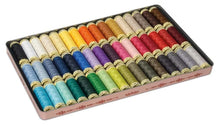 Load image into Gallery viewer, Gutermann Nostalgic '1895' Vintage Tin Set: Sew-All 100m Polyester Thread - 48 Colours