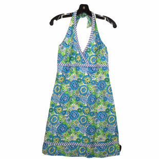 Primary Photo - BRAND: LILLY PULITZER STYLE: DRESS DESIGNER COLOR: BLUE YELLOW SIZE: 8 OTHER INFO: AS IS SKU: 283-283133-16625