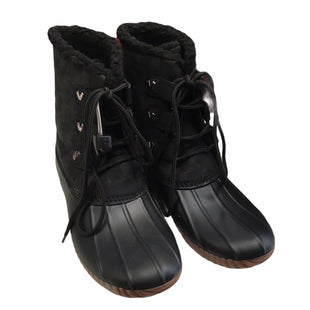Primary Photo - BRAND: JACK ROGERS STYLE: BOOTS DESIGNER COLOR: BLACK SIZE: 7 SKU: 283-283142-2594