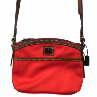 Primary Photo - BRAND: DOONEY AND BOURKE STYLE: HANDBAG DESIGNER COLOR: RED SIZE: SMALL SKU: 283-283142-2734