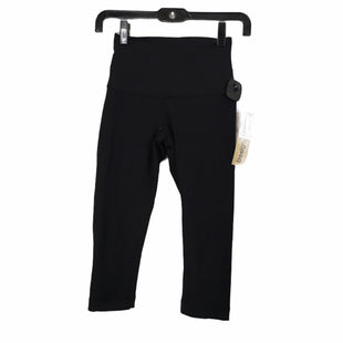 Primary Photo - BRAND: LULULEMON STYLE: ATHLETIC CAPRIS COLOR: BLACK SIZE: S SKU: 283-283149-9170